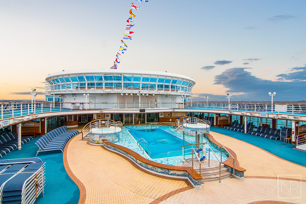 Princess cruise ship photography