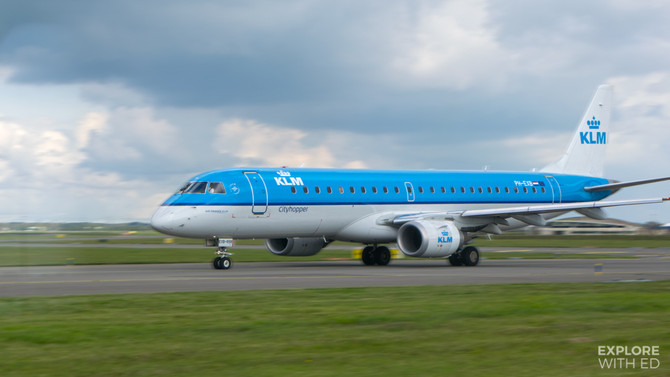 KLM to Amsterdam