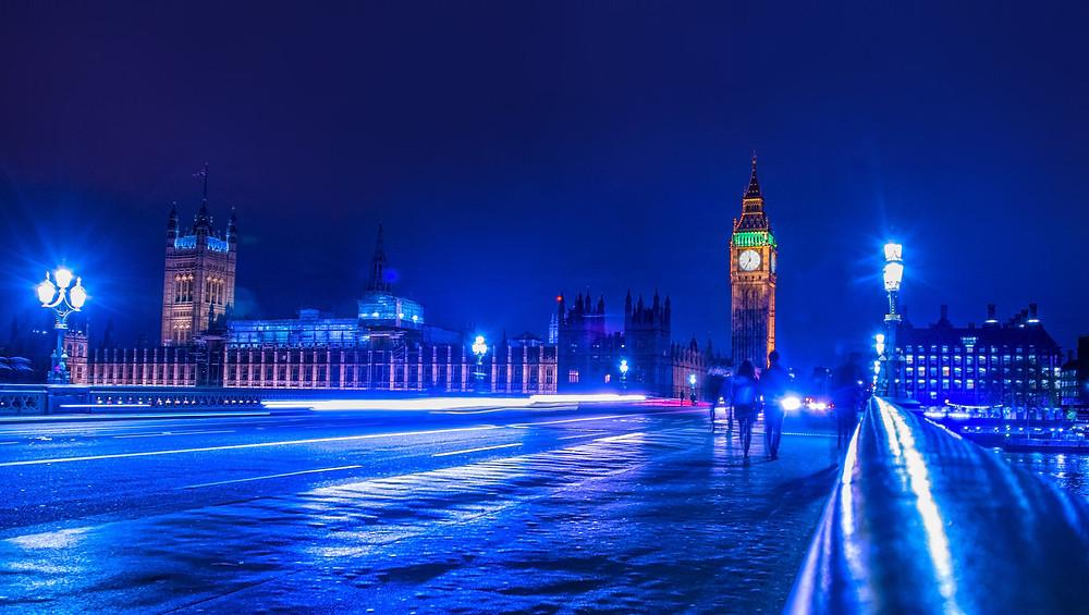 Westminster long exposure