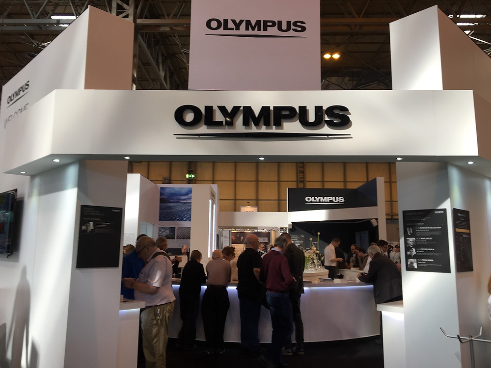 Olympus Stand at The Photography Show