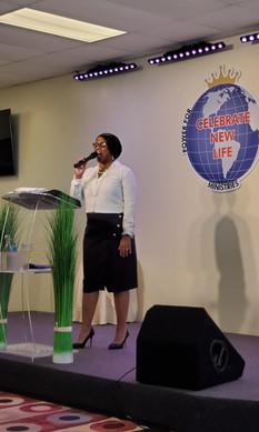 Prophetess Dr. Cheryl Marks @ PFLMI