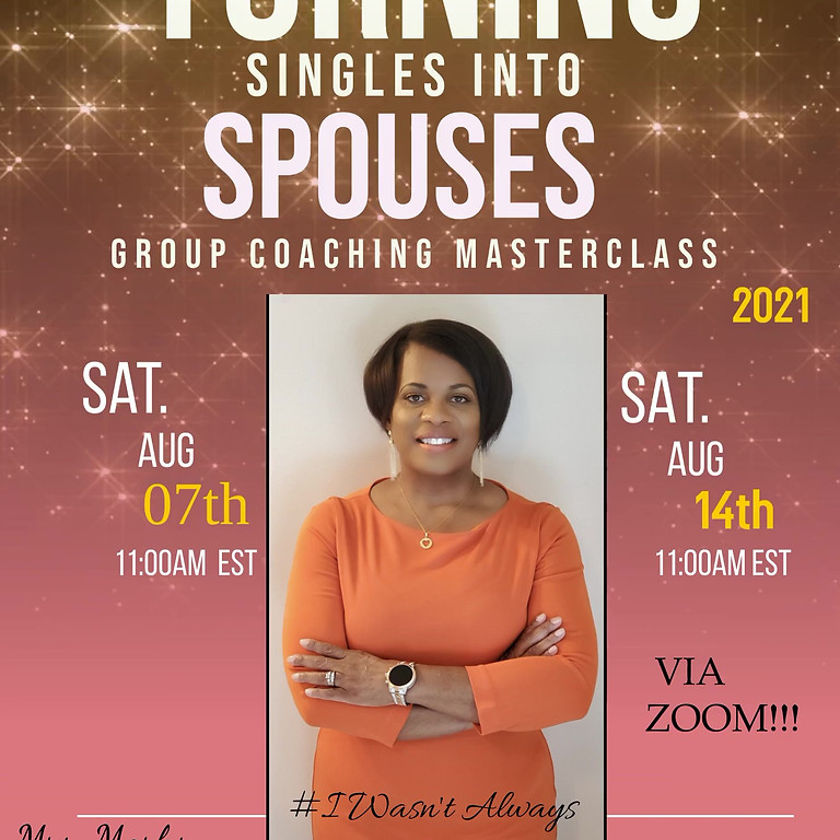 Turning Singles Into Spouses