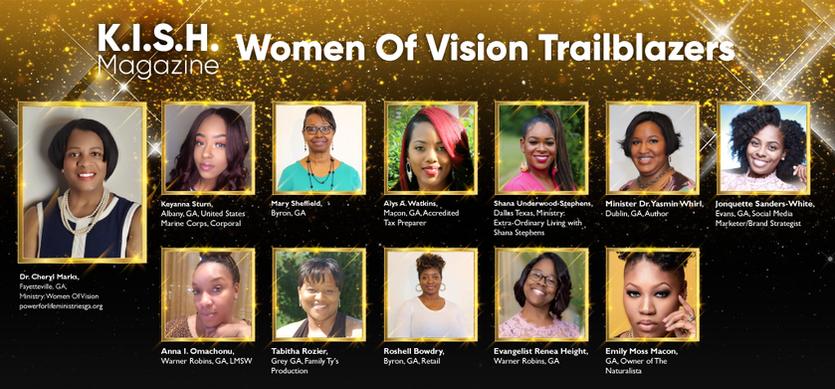 Women Of Vision Trailblazers