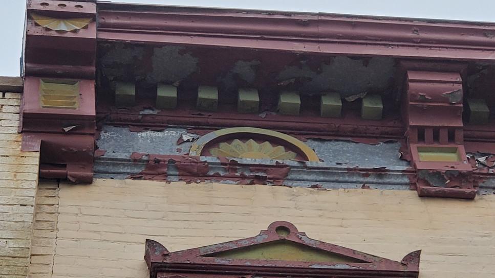 Cornice and Window Hoods
