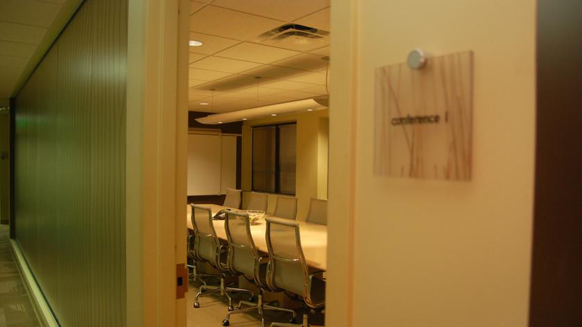 Conference Room & Corridor