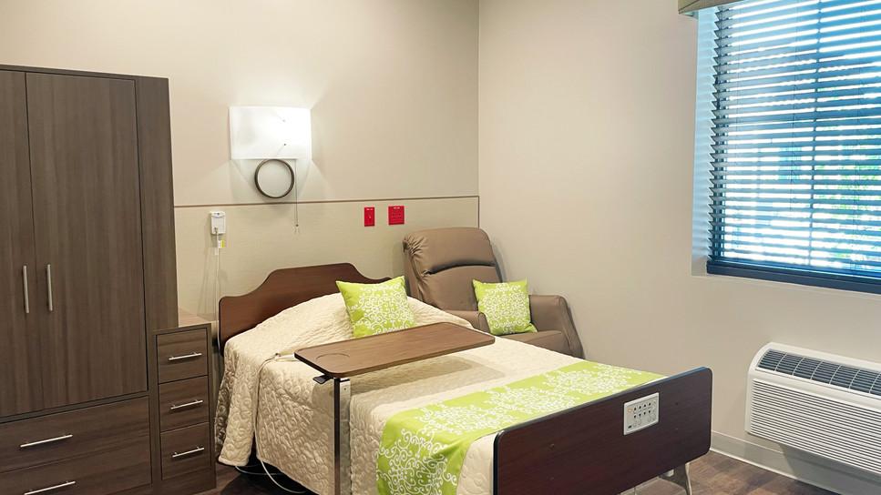 Rehabilitation Resident Room