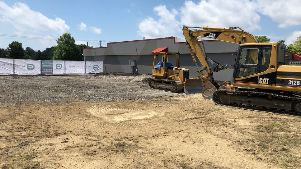 Breaking Ground for Addition
