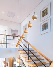 Wooden Staircase - Peak Electrical - Electricians in Canberra Local Area - Licensed Electrician
