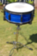 Drum kit restored by Bling Custom Coatings