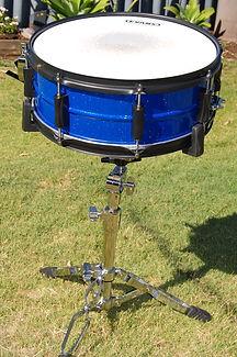 Drum kit restored by Bling Custom Coatings