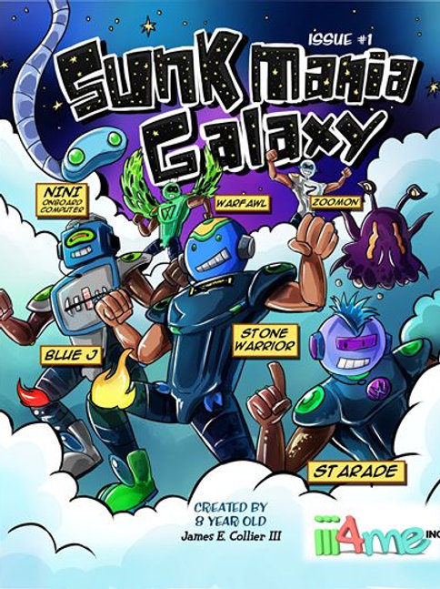 The Adventures of Sunk Mania Galaxy by James E. Collier III