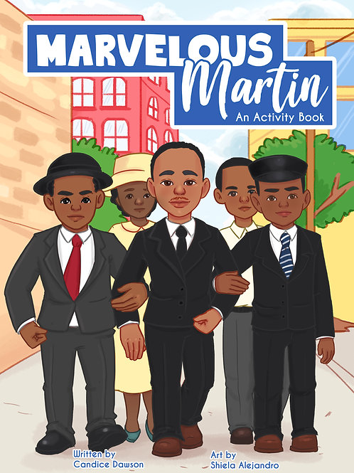 Marvelous Martin  by Dr. C. Dawson