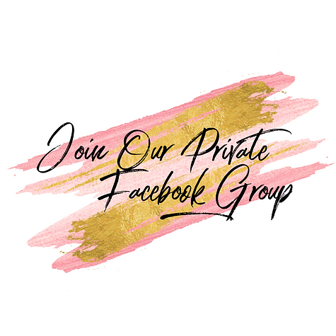 Join Our Private Facebook Group