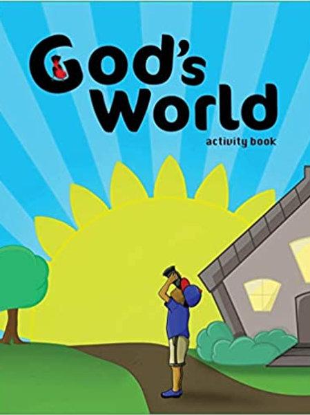 God's World Activity Book by Lisa M. Bradley