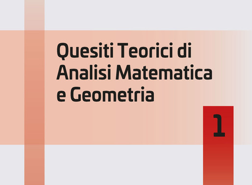 CATINO PUNZO - Quesiti Teorici di Analisi Matematica e Geometria 1