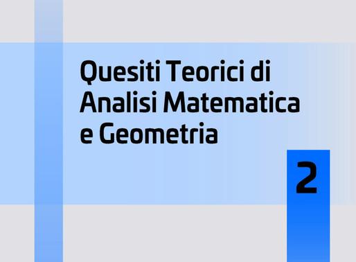 CATINO PUNZO - Quesiti teorici di Analisi Matematica e Geometria 2