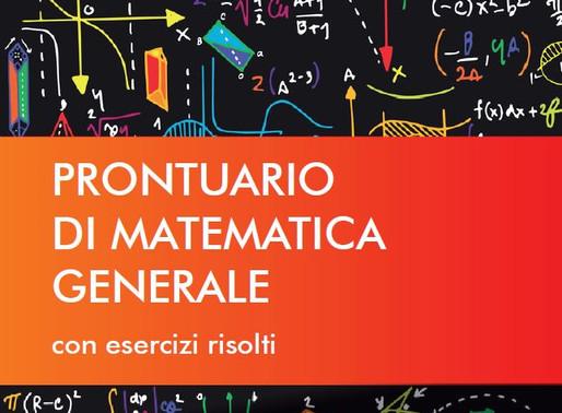 BARZANTI BENVENUTI PEZZI - Prontuario di Matematica Generale. Con esercizi risolti