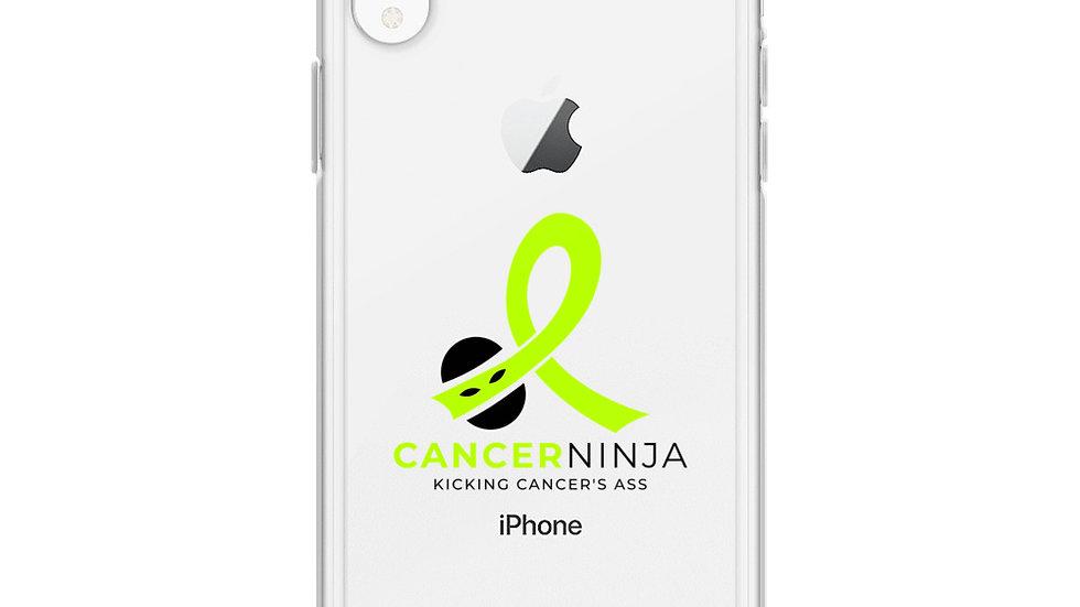 Cancer Ninja Logo iPhone Case