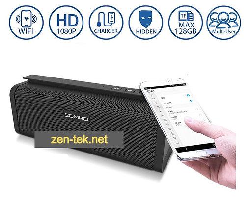 Müzik kutusu Kamera; Full HD kayıt 128 GB destek Wi-Fi kamera ZNT-347