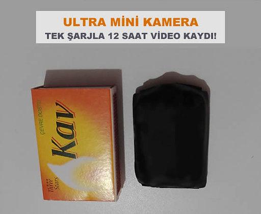 32 GB. Hafızalı Ultra Mini Kamera 12 Saate Kadar Kesintisiz Video Kaydı. ZNT-314