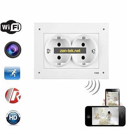 Duvar Prizi Full HD. Canlı İzleme Kaydetme Wi-Fi Kamera ZNT-990
