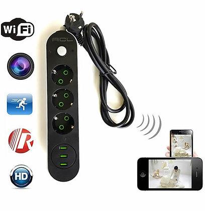 Çoklu Priz Full HD. Canlı İzleme Kaydetme Wi-Fi Kamera ZNT-089-Z