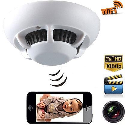 Duman Sensörü Full HD. Canlı İzleme Kaydetme Wi-Fi Kamera ZNT-089-X