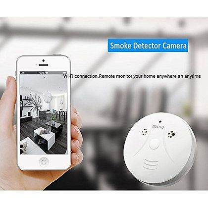 Duman Sensörü Full HD. Canlı İzleme & Kaydetme Wi-Fi Kamera ZNT-089-E