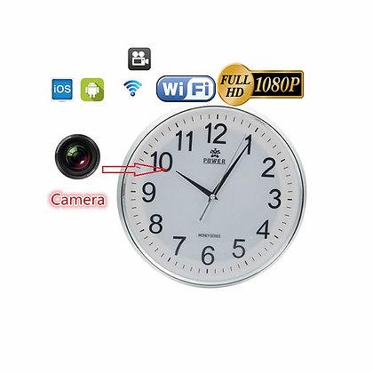 Duvar Saati Full HD. Canlı İzleme & Kaydetme Wi-Fi Kamera ZNT-059