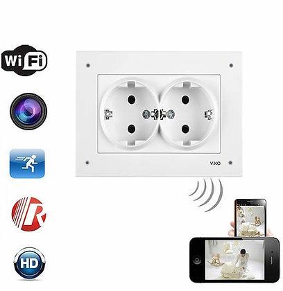 Duvar Prizi Full HD. Canlı İzleme Kaydetme Wi-Fi Kamera ZNT-989