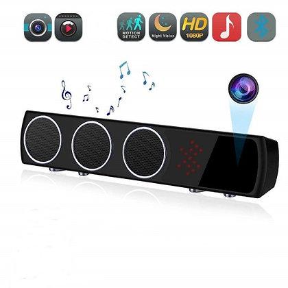 Gece Görüşlü Bluetooth Hoparlör 128 GB. Full HD. Aylarca Kaydetme ZNT-777