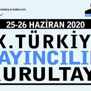 Çevrimiçi Gerçekleşecek 9. Türkiye Yayıncılık Kurultayı Online'ın Programı Açıklandı!