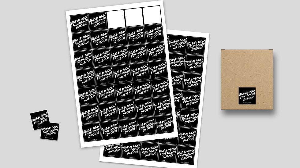 Stickers & Labels Design
