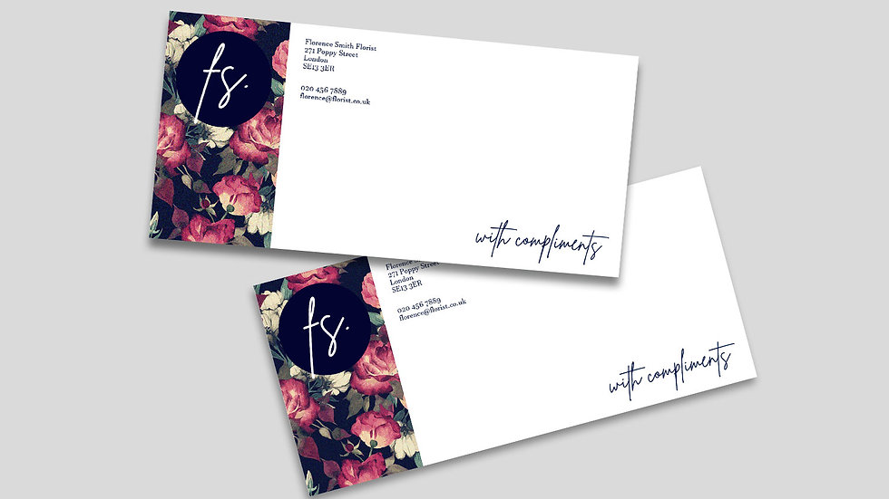 Compliment Slips | Single Sided
