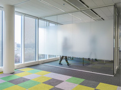 privacy frosted vinyl for office