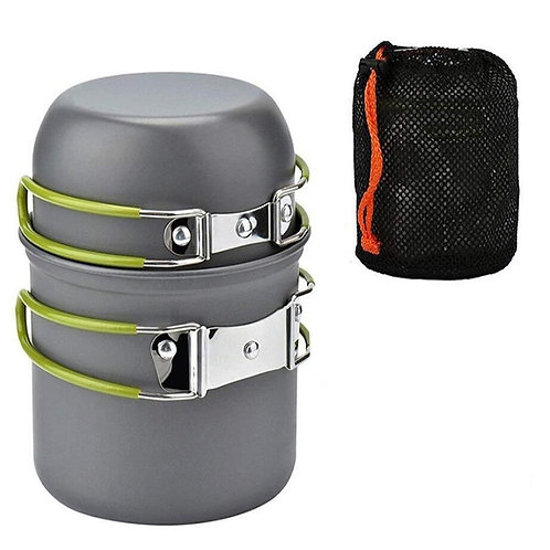 Joshock Ultralight Camping Cookware Portable Outdoor Camping Pot 1-2 People