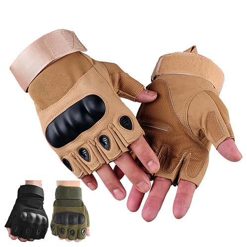 Half Finger Outdoor Tactical Gloves Anti-Slip Work Safety Gloves