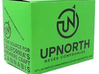 Up North Indoor Oreoz 3.5g (26.75%THC)