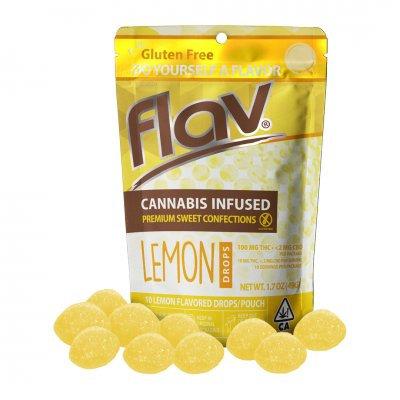 Flav Sweet Drops THC Lemon 100mgTHC