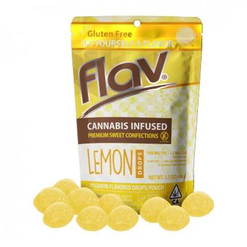 Flav Sweet Drops THC Lemon 100mgTHC
