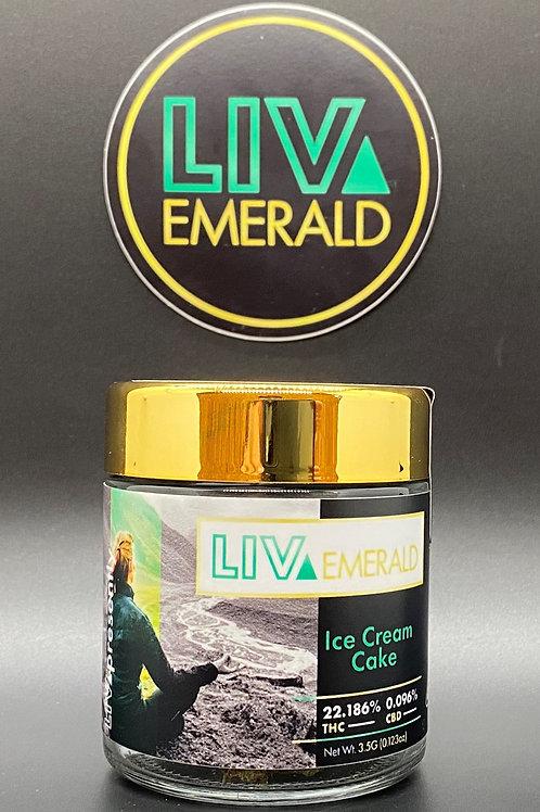 LIV Emerald Sungrown Lemon Larry 3.5g (23.99%THC)