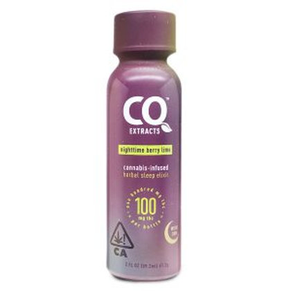 Cannabis Quencher Shot Nightime Berry Lime w/ CBN 2 FL OZ 100mgTHC/6.6mgCBN
