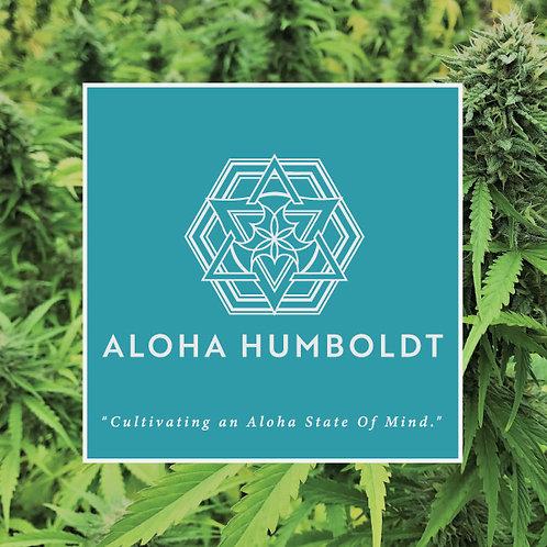 Aloha Humboldt Sungrown Sherbert Frosting 3.5g (23.18%THC)