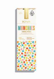 Kiva Bar Milk Chocolate Munchies 100mg