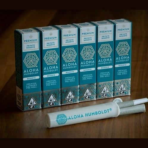Aloha Humboldt PreRoll Vanilla Frosting 1g (19.83%THC)
