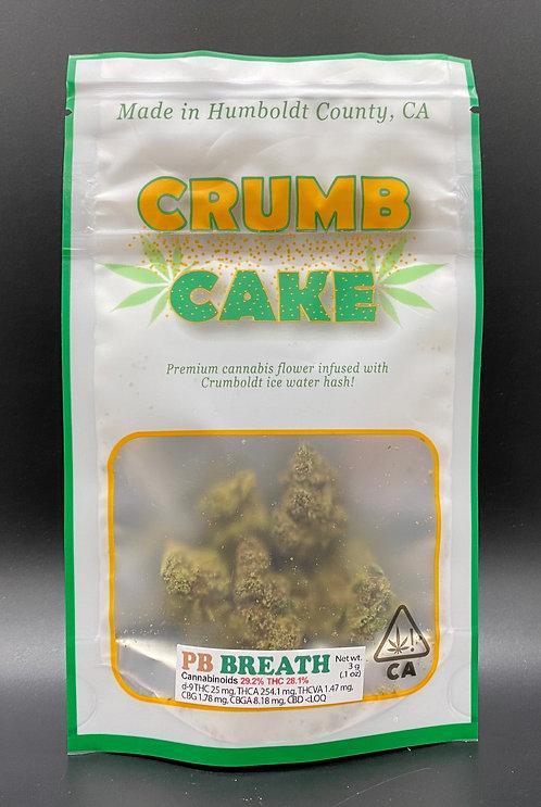 Emerald Genetics Crumb Cake PB Breath 3g (24.78% THC)