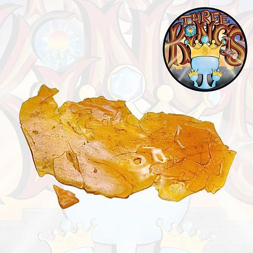 Creme De Canna Shatter 3 Kings OG 1g (73.10% THC)