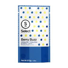 Select Bites Gummies Berry Buzz 100mgTHC