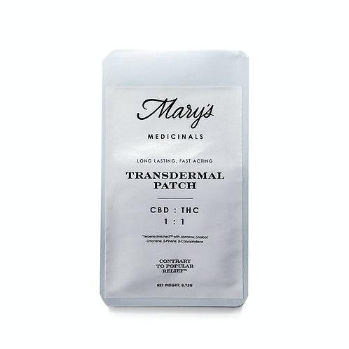 Mary's Medicinals CBD/THC 1:1 Transdermal Patch