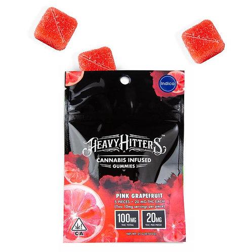 Heavy Hitters Gummy Pack Pink Grapefruit (I) 100mg THC